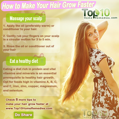 how to regrow hairs faster