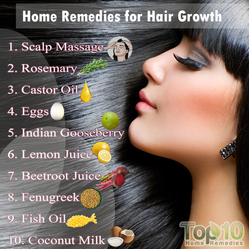 home remedy for regrow hair naturally