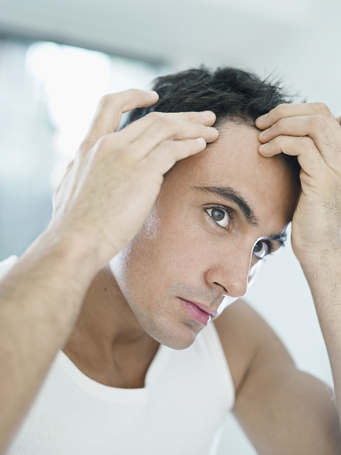 how do you regrow lost hair naturally
